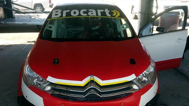 Mariano Werner probó en Paraná el Citroën de su equipo en el Turismo Nacional