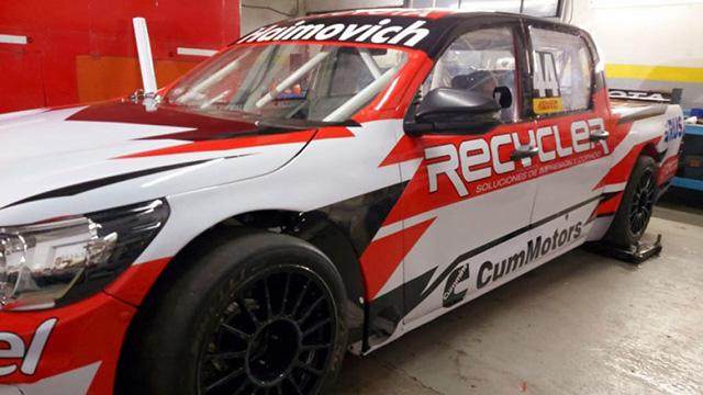 Automovilismo: Así será la Toyota Hilux de Mariano Werner en el TC Pick Up