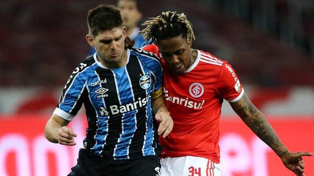 El uruguayense Kannemann fue capitan del Tricolor en el clásico ante Inter.