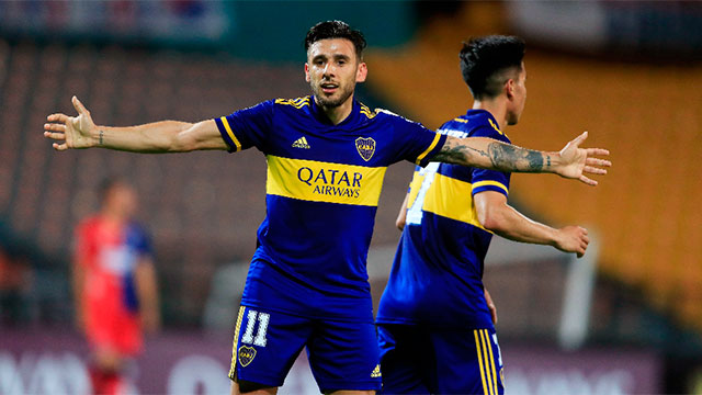 Copa Libertadores: En Colombia, Boca ganó sobre el final y quedó a un paso de clasificar