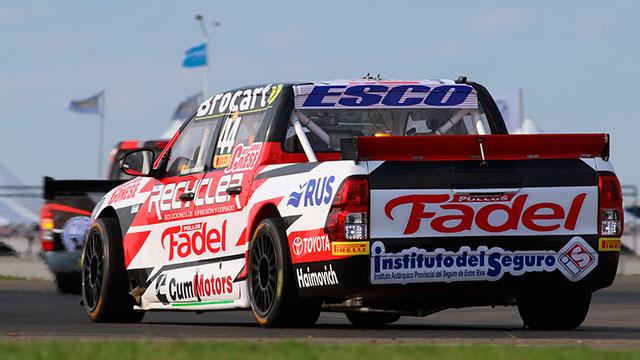 Werner fue segundo y el Gurí Martínez cuarto en la clasificación del TC Pick Up
