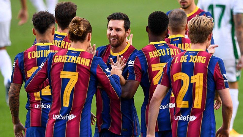 Messi regresa al Barcelona, tras la dos victorias con Argentina.