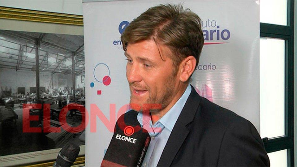 Sebastián Bértoli, candidato a Presidente de Patronato.