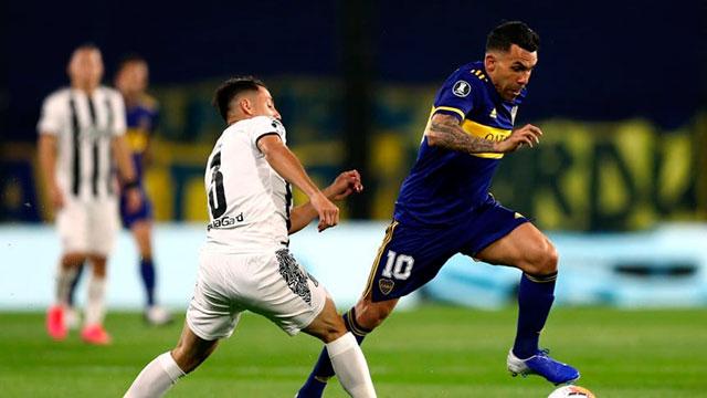 Boca no puede con Libertad en la Bombonera por la Copa Libertadores