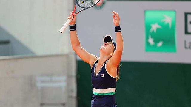 Podoroska avanzó a tercera ronda de Roland Garros.