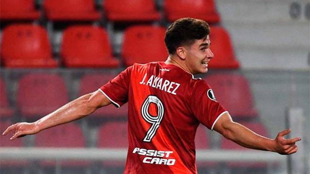 River lo ganaba de la mano de Álvarez pero San Pablo lo empató: están 1-1