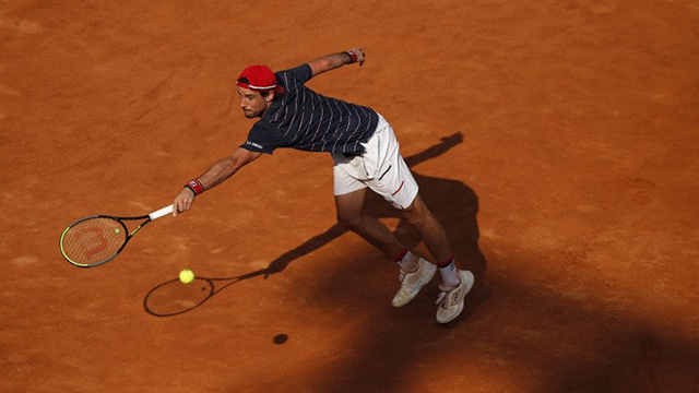 Pella le dijo adiós a Roland Garros.