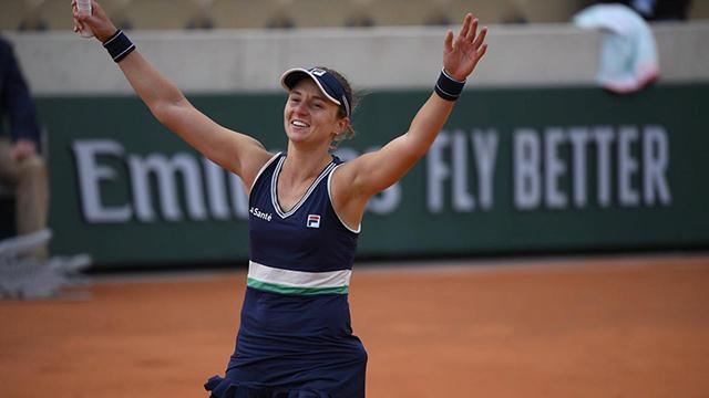 Podoroska venció a la N° 5 del mundo y es semifinalista.