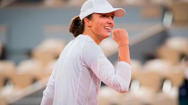 Iga Swiatek, campeona de Roland Garros con sólo 19 años.