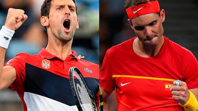 Nadal vs. Djokovic.