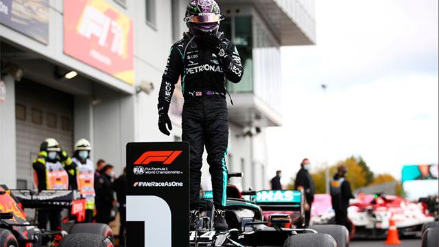 Fórmula 1: Hamilton ganó en Nürburgring e igualó el récord de Schumacher en victorias - Superdeportivo.com.ar