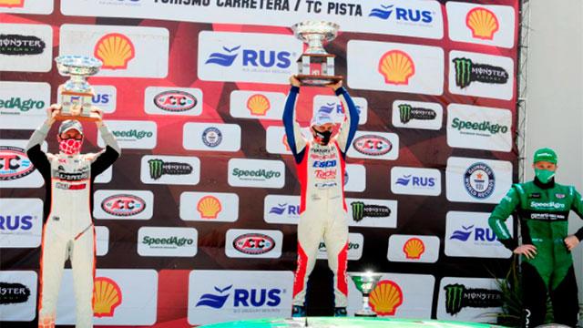 Werner hizo una gran carrera y ganó en San Nicolás. (Foto: ACTC)
