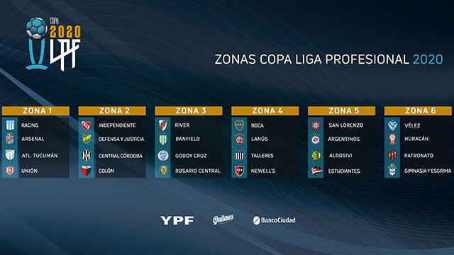 La Copa de la Liga Profesional empezará el 30 de octubre.