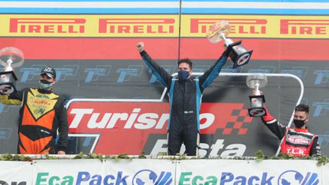 Marco Veronesi avanzó y ganó en Buenos Aires.