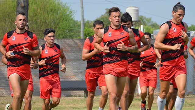Regresó Patronato: Un nuevo lesionado y tres jugadores volvieron a trabajar a la par del grupo