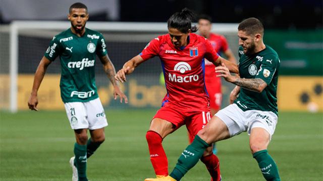 Tigre fue goleado en Brasil y quedó sin chances de jugar la Sudamericana.