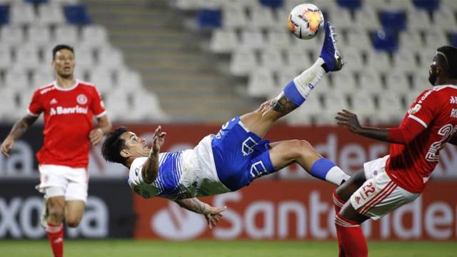 El Toro Zampedri fue la figura en el triunfo de los Cruzados ante Inter.