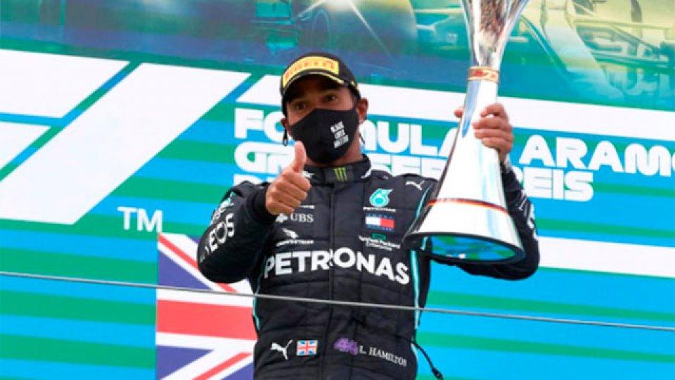 Hamilton ganó y es el piloto de la Fórmula 1 con mayor cantidad de victorias.