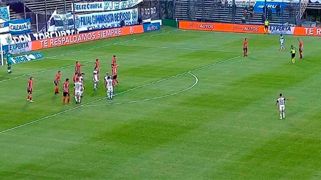 Patronato debuta en la Liga Profesional con Gimnasia: igualan sin goles