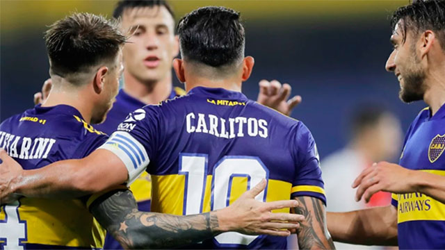 Lanús reaccionó y empata frente a Boca por 1 a 1