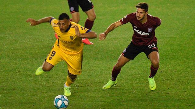 Boca arranca el torneo con una victoria por 2 a 1 frente a Lanús