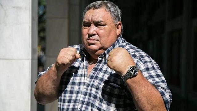 """Murió Juan Domingo """"Martillo"""" Roldán, leyenda del boxeo argentino."""