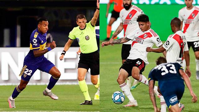 Boca-Lanús y Banfield-River, los partidos del destacados del viernes.