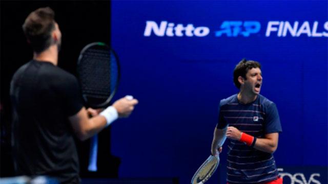 Zeballos y Granollers cayeron en semifinales del Master de Londres.