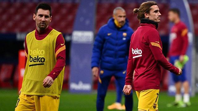 Griezmann rompió el silencio y contó el reproche de Messi: