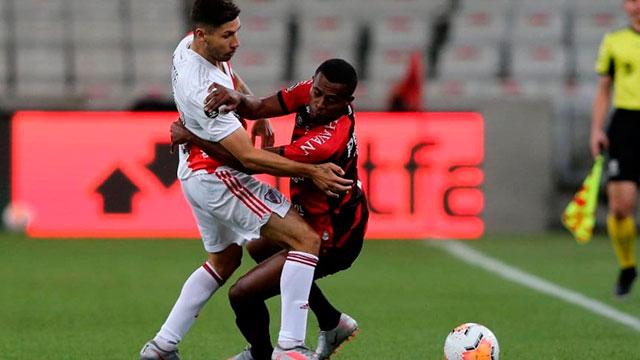 Copa Libertadores: En Brasil, River logró un empate agónico ante Athletico Paranaense