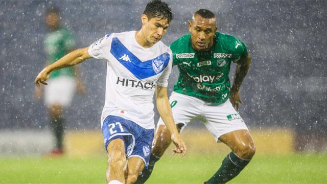 Vélez sacó ventaja ante Deportivo Cali por la Copa Sudamericana.
