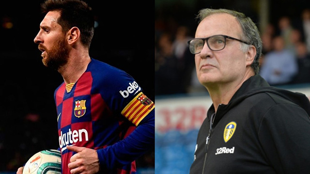 Lionel Messi y Marcelo Bielsa, nominados para The Best.