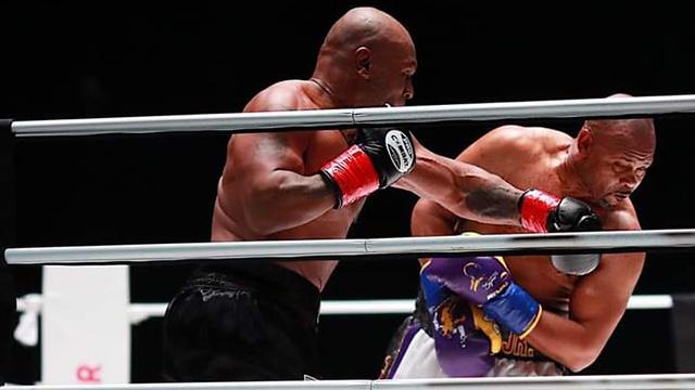 La pelea le dejó a Tyson un bolsa de 10 millones de dólares.