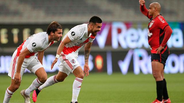 River-Paranaense: El equipo de Gallardo va por el pasaje a cuartos de la Libertadores