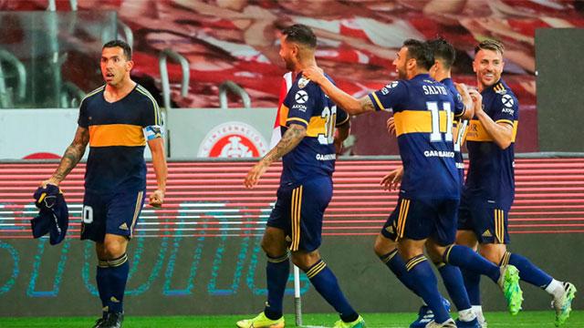 Copa Libertadores: Con gol de Tevez, Boca superó a Inter en Brasil y sacó ventaja para la revancha