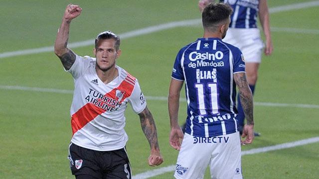 River, con un equipo alternativo, supera a Godoy Cruz en la última fecha de la zona de grupos