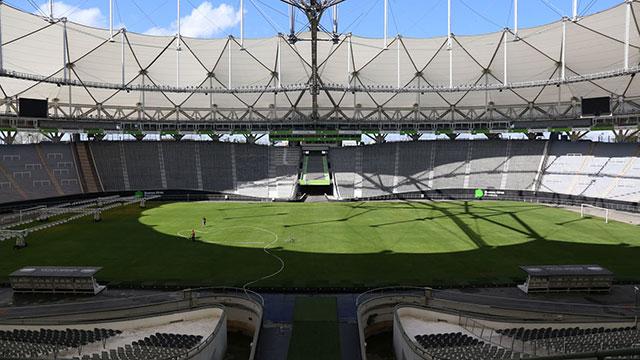 El estadio Único de La Plata.