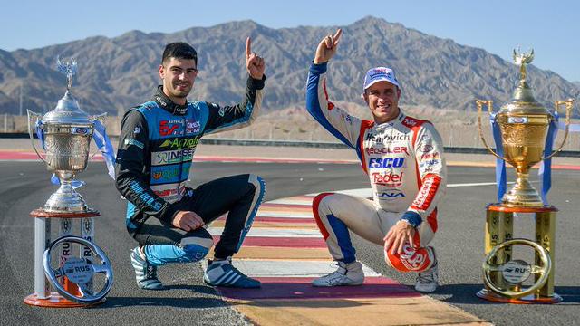 Werner y Londero fueron los mejores de la temporada en el TC y TC Pista.