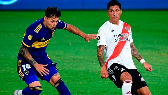 Copa Diego Maradona: En un gran partido, Boca y River igualaron 2-2 en la  Bombonera - Superdeportivo.com.ar