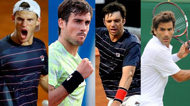 El Peque, Coco, el Cebolla y Machi integran el equipo argentino en la ATP Cup.