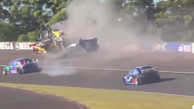 Video: Impresionante accidente en la largada del Top Race Junior en Paraná