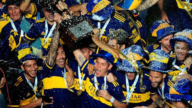 Boca celebró el segundo título tras la llegada de Miguel Ángel Russo.
