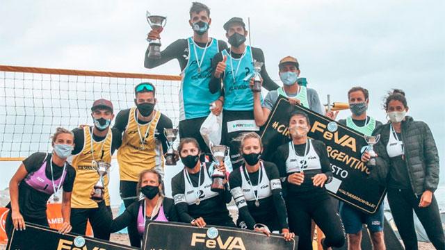 Beach Volley: Gallay y Azaad festejaron en la segunda etapa del Circuito Argentino