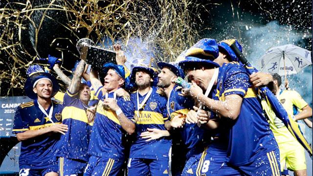 Boca salió campeón y llegó a las 70 estrellas: así quedó la tabla histórica de títulos
