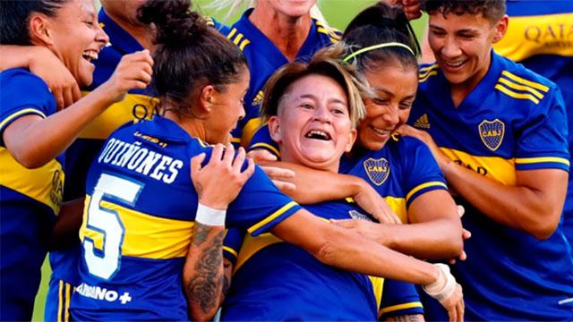 Superclásico Femenino: Boca superó 7-0 a River en la primera final profesional de la historia