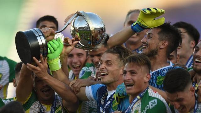 El entrerriano Ezequiel Unsain dentro del once ideal de la Copa Sudamericana