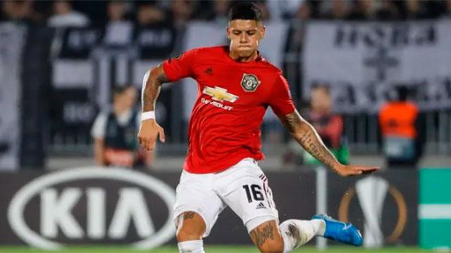 Marcos Rojo, a un paso de Boca: acordó su salida de Manchester United.