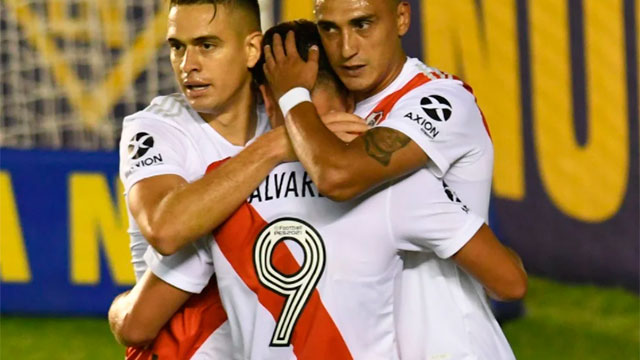 Estudiantes le ganó a River en el final