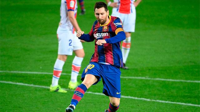 Messi y Barcelona buscan revertir la serie y llegar a la final de la Copa del Rey