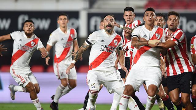 Estudiantes le ganó a River por la Copa de la Liga Profesional.
